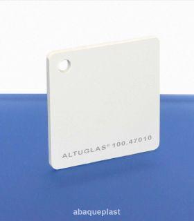 """Altuglas® 100.47010 - Plaque PMMA coulé blanc opaque Altuglas® CN- """"10047010"""" - """"100-47010"""""""