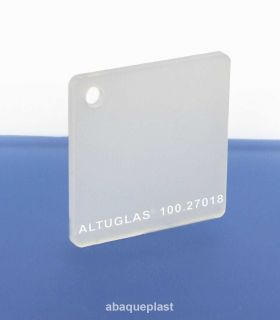 Altuglas® 100.27018 - Plaque PMMA coulé blanc diffusant opale Altuglas® CN - 10027018 - 100-27018