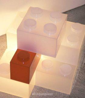 Plaque en PMMA blanc diffusant opale plexi coulé - Altuglas® CN - 10027018 - 100-27018