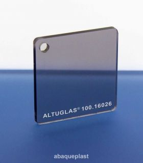 Altuglas 10016026 - Plaque PMMA coulé fumé gris - Altuglas® CN - 10016026 - 100-16026