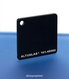 Altuglas® 101.48000 - Plaque PMMA coulé noir opaque - Altuglas® CN - 10148000 - 101-48000...