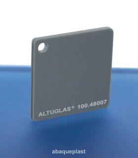 Altuglas® 100.48007 - Plaque PMMA coulé gris - Altuglas® CN - 10048007 - 100-48007...