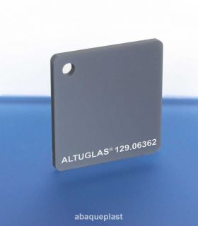 Altuglas® 129.06362 Argent - Plaque PMMA métallic coloré spéciaux coulé - 12906362 - 129-06362...