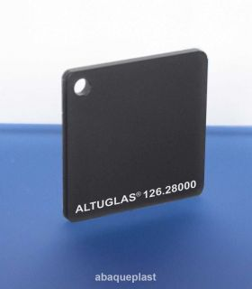 Altuglas 126.28000 - Plaque PMMA coulé Black & White Altuglas® CN Night & Day - 12628000 - 126-28000...