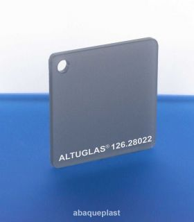 Altuglas 126.28022 - Plaque PMMA coulé Grey & White Altuglas® CN Night & Day - 12628022 - 126-28022...