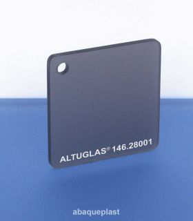 Altuglas® 100.47010 - Plaque PMMA coulé gris rétro-projection visio  Altuglas® CN - 10047010 - 100-47010...