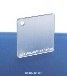 Altuglas®-145.10000-Plaque PMMA coulé incolore dual satin Altuglas® CN - 14510000 - 145-10000......