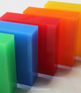 Altuglas® - Bloc PMMA coulé Altuglas® couleur Led
