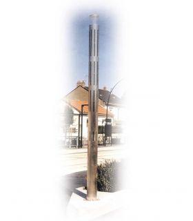 Tube PMMA transparent extrudé 2 mètres