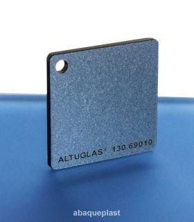 Altuglas® 130.69010 - Plaque PMMA coulé CN Metallic argent - Altuglas CN - 13069010 - 130-69010...