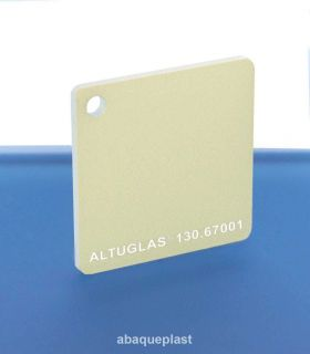 Altuglas® 130.67001 - Plaque PMMA coulé or Iridescent Altuglas® CN - 13067001 - 130-67001...