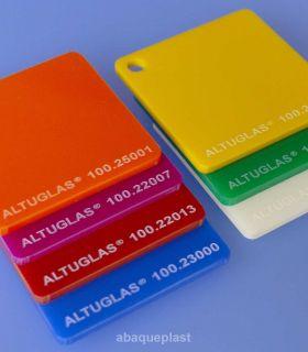 Altuglas® - Plaque PMMA coulé diffusant couleur Altuglas® CN