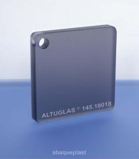 Altuglas®-145.18018-Plaque PMMA coulé gris dual satin Altuglas® CN - 14518018 - 145-18018...