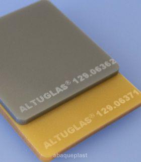Plaque PMMA métallic coloré spéciaux coulé - CN Altuglas