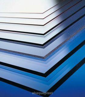 Plaque PC polycarbonate - résine Makrolon®/Lexan®