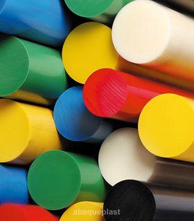 Bâton PVC rigide couleur, gris et blanc