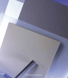 Plaque PVC rigide couleur, blanc et gris...