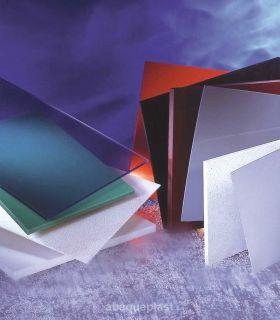 Plaque polyéthylène extrudé blanc et noir - PEHD 300