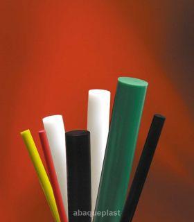 Bâton polyéthylène blanc naturel extrudé - PE HMG 1000