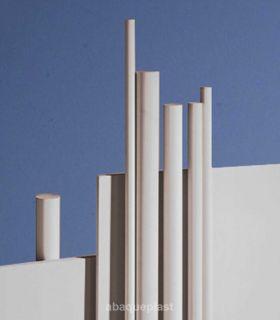 Bâton polypropylène gris- PP