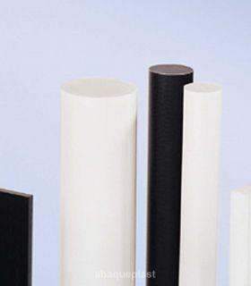 Bâton polyamide PA6 blanc naturel