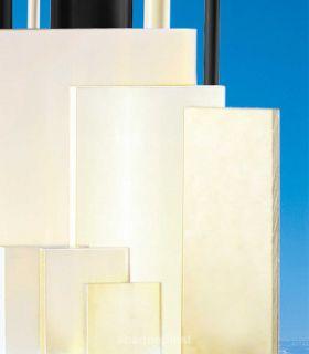 Feuille - Plaque polyamide PA66 blanc naturel