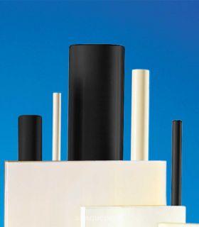 Bâton polyamide PA 6.6 blanc naturel