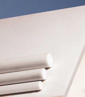Bâton polyamide PA12 blanc extrudé