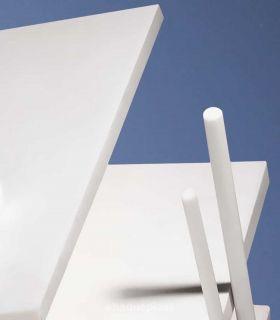 Plaque polytétrafluoréthylène blanc - PTFE - type Téflon®