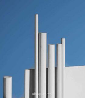 Bâton polytétrafluoréthylène blanc - PTFE - type Téflon®