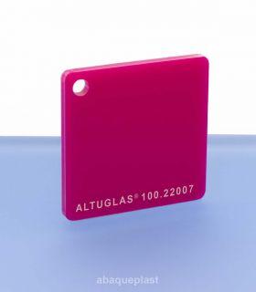 Altuglas® CN 100.22007 - Plaque PMMA diffusant fuchsia coulé - Altuglas CN - 10022007 - 100-22007...