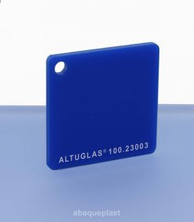 Altuglas® CN 100.23003 - Plaque PMMA diffusant bleu coulé - Altuglas CN - 10023003 - 100-23003...