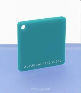 Altuglas® CN 100.23010 - Plaque PMMA diffusant bleu coulé - Altuglas CN - 10023010 - 100-23010...
