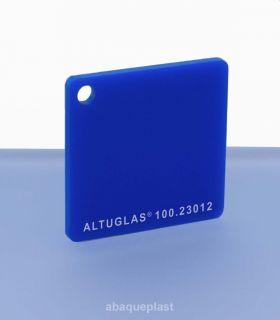Altuglas® CN 100.23012 - Plaque PMMA diffusant bleu coulé - Altuglas CN - 10023012 - 100-23012...