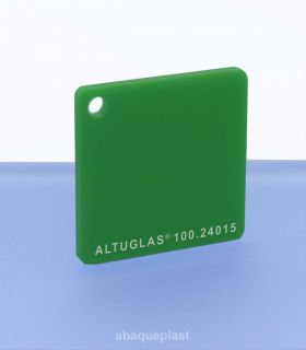 Altuglas® CN 100.24015 - Plaque PMMA diffusant vert coulé - Altuglas CN - 10024015 - 100-24015...