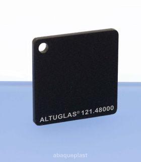 Plaque mono satin noir - 121.48000