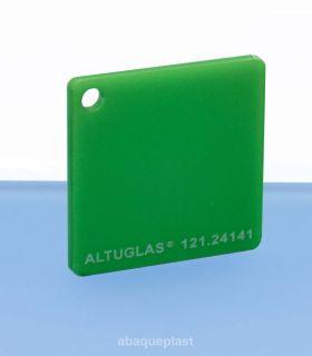 Plaque mono satin vert led - 121.24141