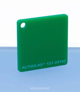 Plaque mono satin vert led - 121.24142