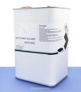 Acétone Bidon de 5 litres