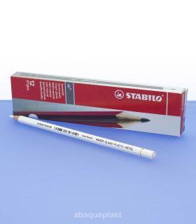 Boite crayon de couleur blanc
