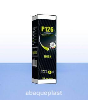Pâte à lustrage P126A pour les plastiques, les métaux et l'acier