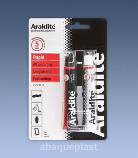 Araldite® époxy 2 composants - 15 + 15 ml-abaqueplast