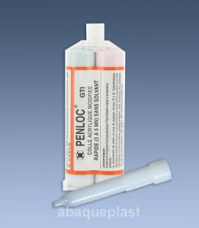 Colle Penloc GTI® acrylique cartouche - 50 ml (2x25)