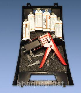 Coffret Pistolet à cartouches de colle bi-composant Penloc GTI®