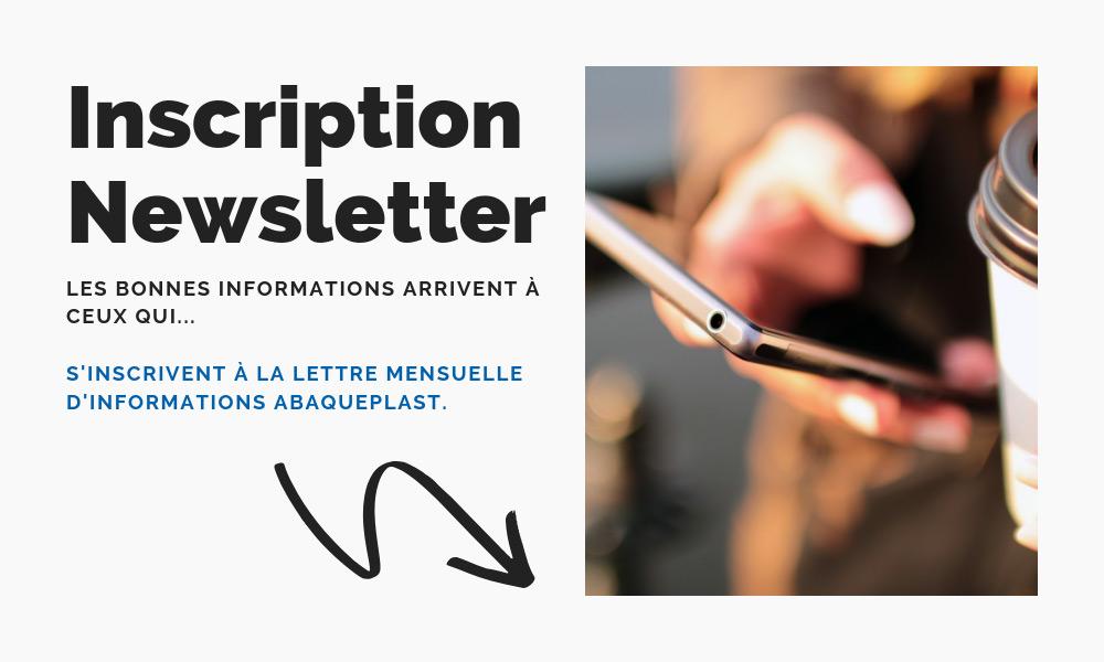 Inscription à la newsletter