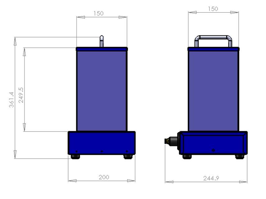 Schéma machine unité de revêtement 150R Cr-clarke