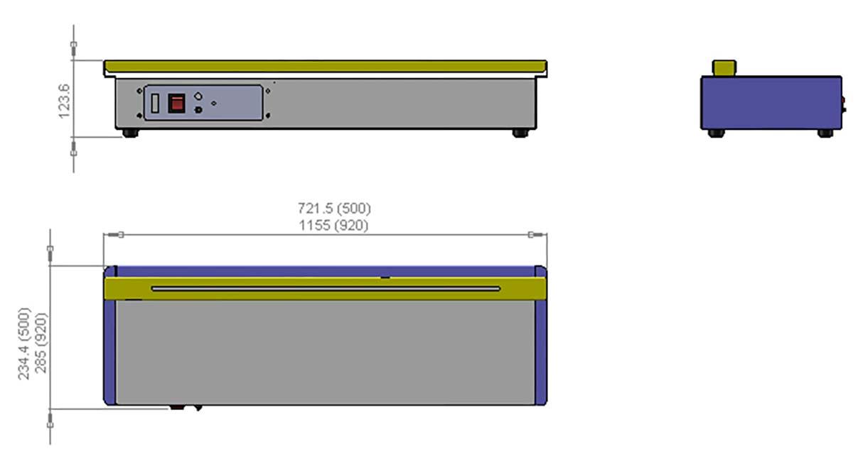 Schéma machine appareil à souffler les demi-sphères 320 Cr-clarke