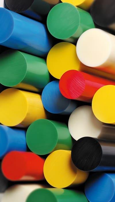 Bâtons couleur en PVC