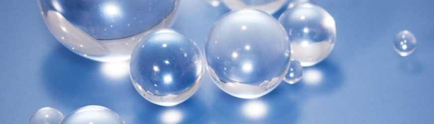 Bille (Sphères) plastique en PMMA
